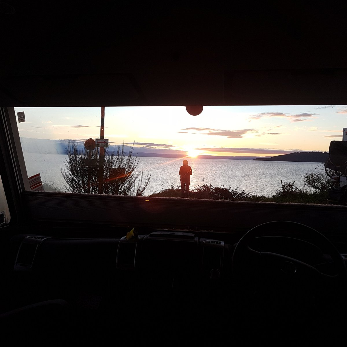 Camping In Taupo At 5 Mile Bay